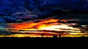 Sonnenuntergang Thailand stockfotos
