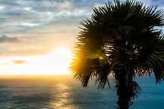 Sonnenuntergang Thailand Stockbilder