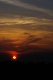 Sonnenuntergang Thailand Lizenzfreie Stockfotografie