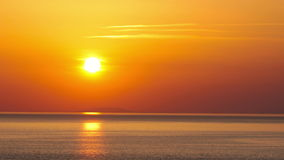 Sonnenuntergang - timelapse. 4K. VOLLES HD, 4096x2304. stock footage