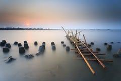 Sonnenuntergang und Sonnenaufgang Lizenzfreie Stockfotografie