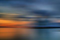Sonnenuntergang- und Sonnenaufgangansicht stockbild