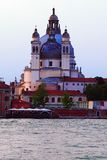 Sonnenuntergang in Venedig Stockbild