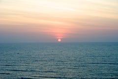 Sonnenuntergang in Vietnam Stockbilder