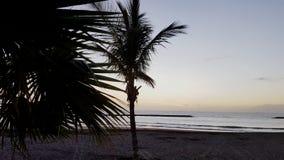 Sonnenuntergang vom Ozean lizenzfreie stockfotos