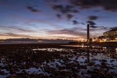 Sonnenuntergang von den Steinen Lizenzfreie Stockfotos