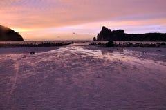 Sonnenuntergang von Phiphiinsel Stockfotografie