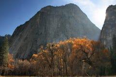 Sonnenuntergang Yosemite Stockfoto