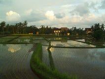 Sonnenuntergang Yunnans China Lizenzfreie Stockfotografie