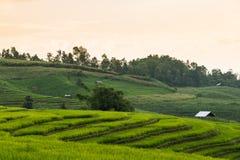 Sonnenuntergang Yunnans China Lizenzfreies Stockfoto