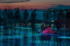 Sonnenuntergang in Zadar Lizenzfreie Stockfotografie