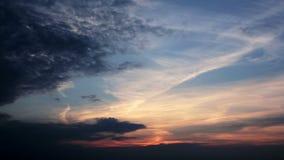 Sonnenuntergang-Zeitspanne HD stock video