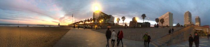 Sonnenuntergangansicht Lizenzfreie Stockfotografie