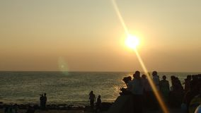Sonnenuntergangansicht Lizenzfreies Stockbild