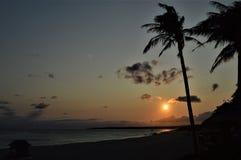 Sonnenuntergangansicht in Kenting Taiwan Stockfoto