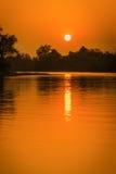 Sonnenuntergangchip-LKW-Effekte Lizenzfreie Stockfotos