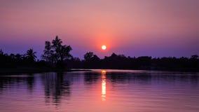 Sonnenuntergangchip-LKW-Effekte Lizenzfreies Stockbild