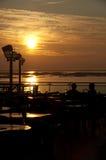 Sonnenuntergangcocktails Stockfotografie