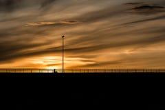 Sonnenunterganghimmel Lizenzfreie Stockbilder