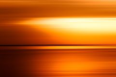 Sonnenuntergangozean-Horizont ackground Stockfotos