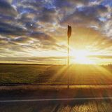 Sonnenuntergangschönheit Stockbilder
