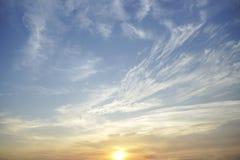 Sonnenuntergangsonnenaufgang stockfotografie