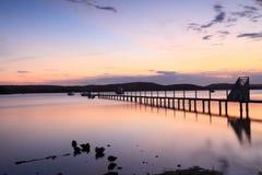 Sonnenuntergangsruhe lizenzfreie stockfotografie