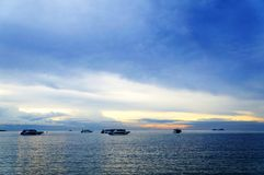 Sonnenuntergangst. Samui, Thailand Lizenzfreies Stockfoto