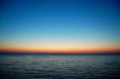 Sonnenuntergangstrand Lizenzfreies Stockfoto