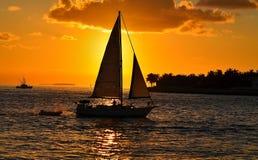 Sonnenuntergangträume Stockfoto