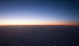 Sonnenuntergangwolke Lizenzfreies Stockbild