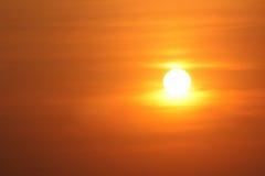 Sonnenuntergangzeiten Stockfotografie