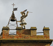 Sonnerie de Bell toscane de tour Photographie stock