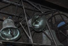 Sonnerie de cloches d'église Images libres de droits