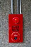 Sonnette d'alarme d'incendie Image libre de droits