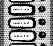 Sonnettes avec l'espace pour votre texte, vecteur illustration de vecteur