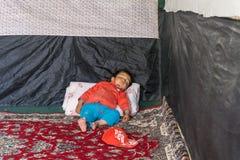 Sonni in Afghanistan Fotografia Stock