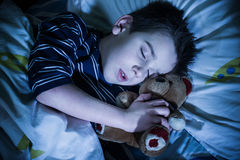 Sonni del bambino Fotografia Stock