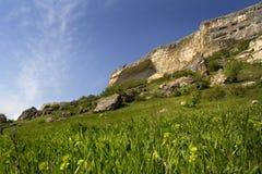 Sonnige Landschaft Stockbilder