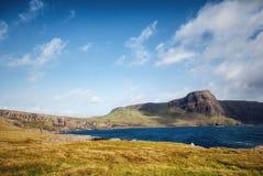Sonnige schottische Landschaft Stockfotografie