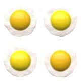 Sonnige Seite herauf Eier. Lizenzfreie Stockbilder