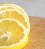 Sonnige Zitrone Lizenzfreies Stockbild