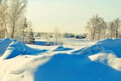 Winter-Etüde Stockfoto
