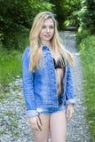 Sonniger Fluss Lizenzfreies Stockfoto