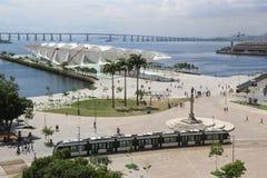 Sonniger Herbsttag in Rio de Janeiro Stockfotografie