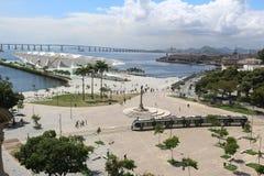 Sonniger Herbsttag in Rio de Janeiro Stockbild