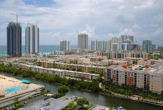 Sonniger Insel-Strand, Florida Lizenzfreie Stockfotos