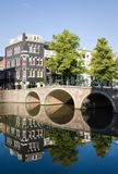 Sonniger Sonntag Amsterdam Stockfotos