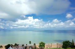 Sonniger Tag auf dem Strand Lizenzfreies Stockfoto