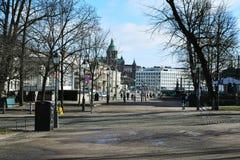 Sonniger Tag in Helsinki stockbild